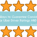 Uber Driver Ratings: How do uber drivers get 5 star ratings? I'm sharing my top 10 uber driver tips that have kept my uber rating well over 4.90 for 2 and a half years.